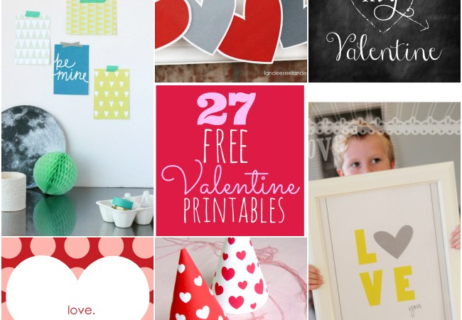 27 Amazing (and Free!) Valentine's Day Printables