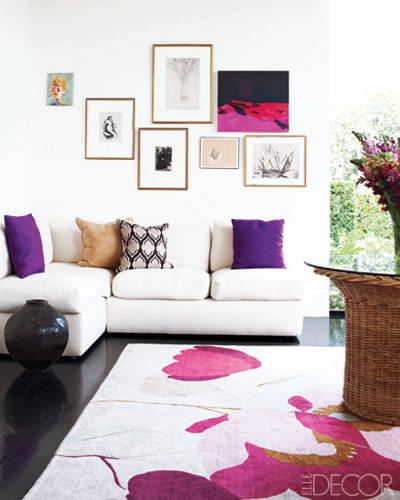 Pinterest Home Decor 2014: Radiant Orchid Decorating Ideas