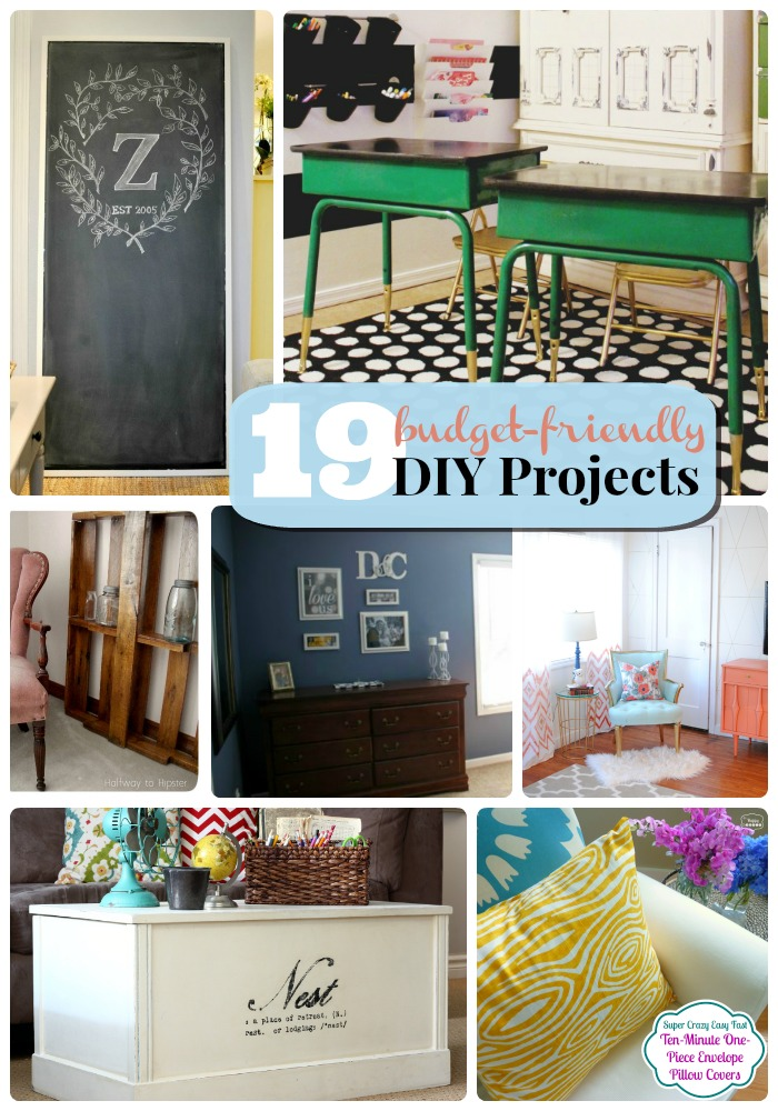 budget friendly diy projects