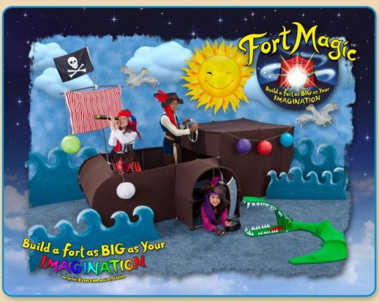 fort magic pirate ship