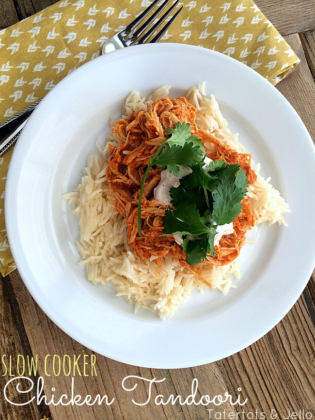 slow cooker chicken tandoori recipe at tatertots and jello