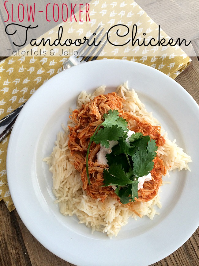 crock pot tandoori chicken