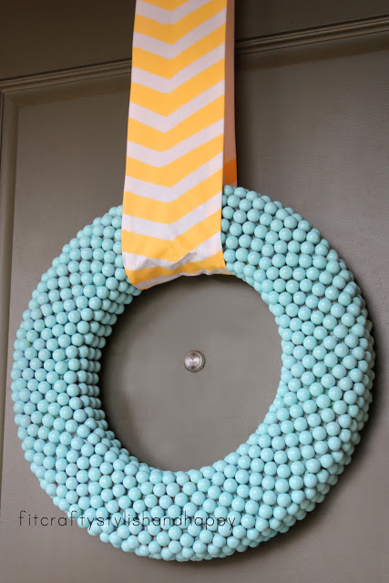 spring Easter wreath 1