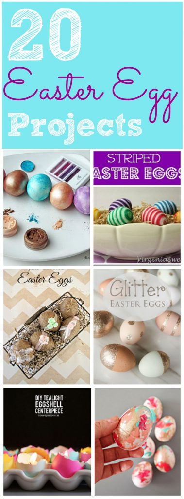 20 diy easter egg ideas