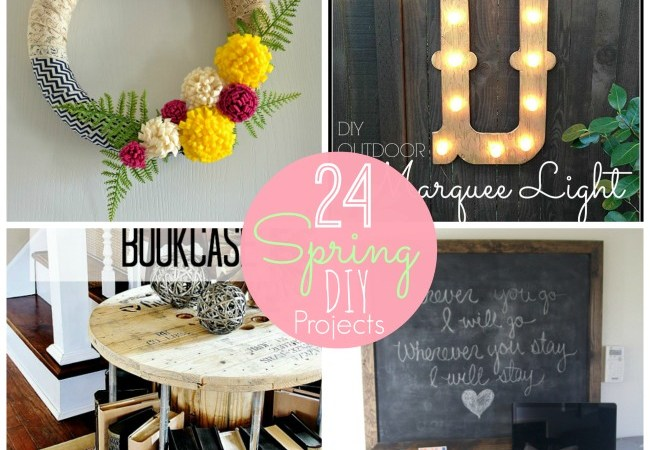 Great Ideas — 24 Ways to Spruce up YOUR Home for Spring!