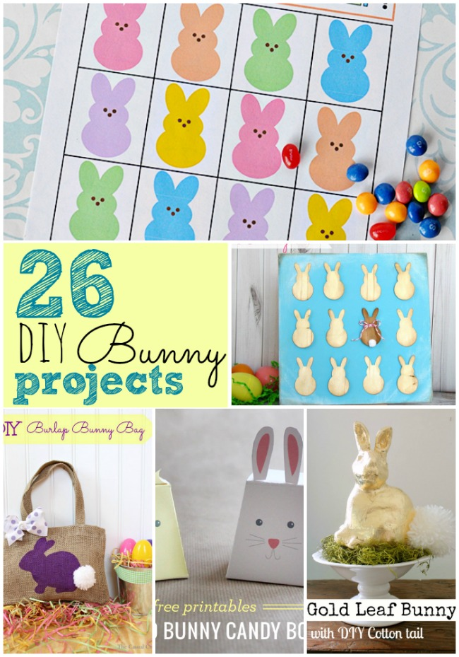 26 DIY Easter Bunny Projects
