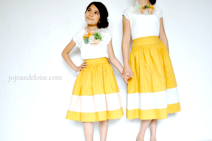 girls-circle-skirt-striped
