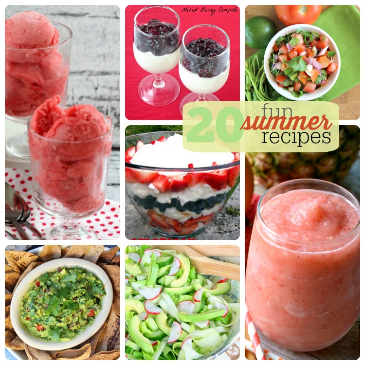 20.fun.summer.recipes