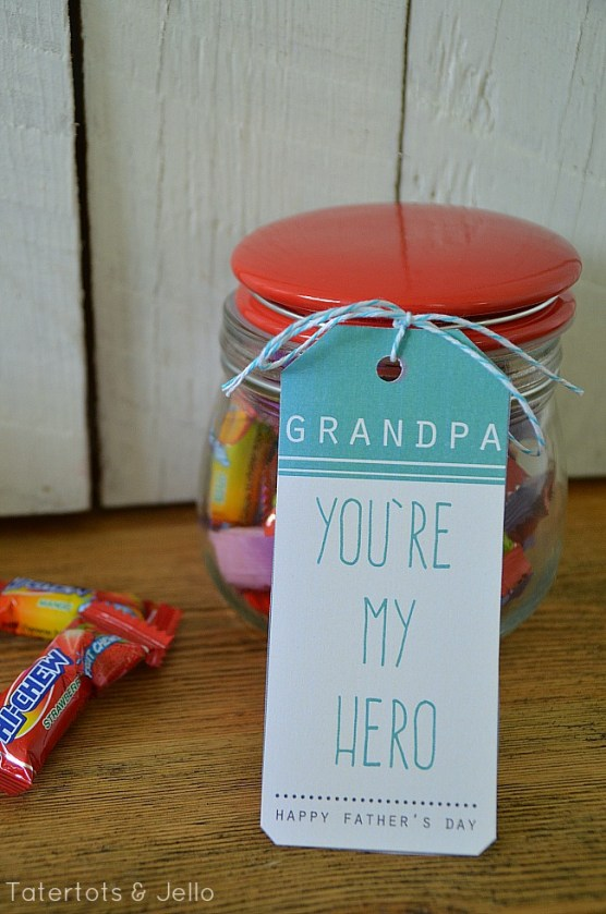 grandpa hero printables at tatertots and jello