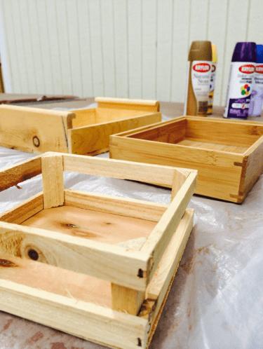 krylon paint crates
