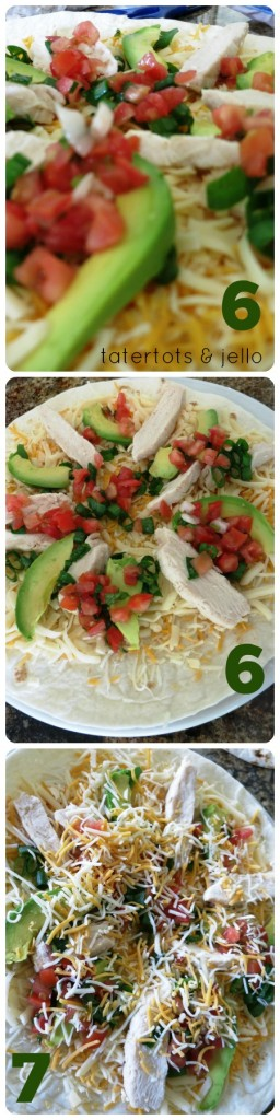 quesadilla steps 6 and 7