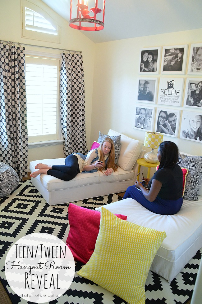 teen tween hangout room reveal! [ inawaverlyworld] tatertots and jello
