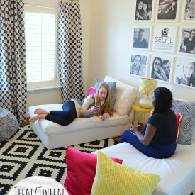 Teen/Tween Hangout Room Reveal! [#inawaverlyworld]