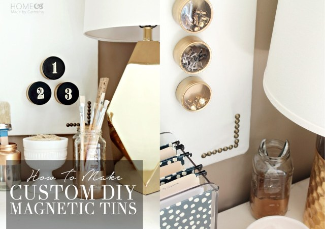 How to Make Custom DIY Magnetic Tins