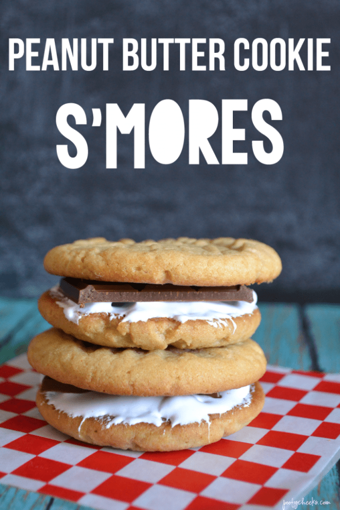 Peanut Butter Cookie Smore