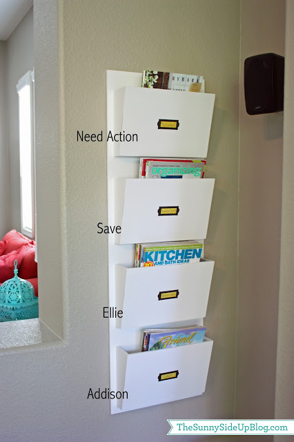 back to school paper organization