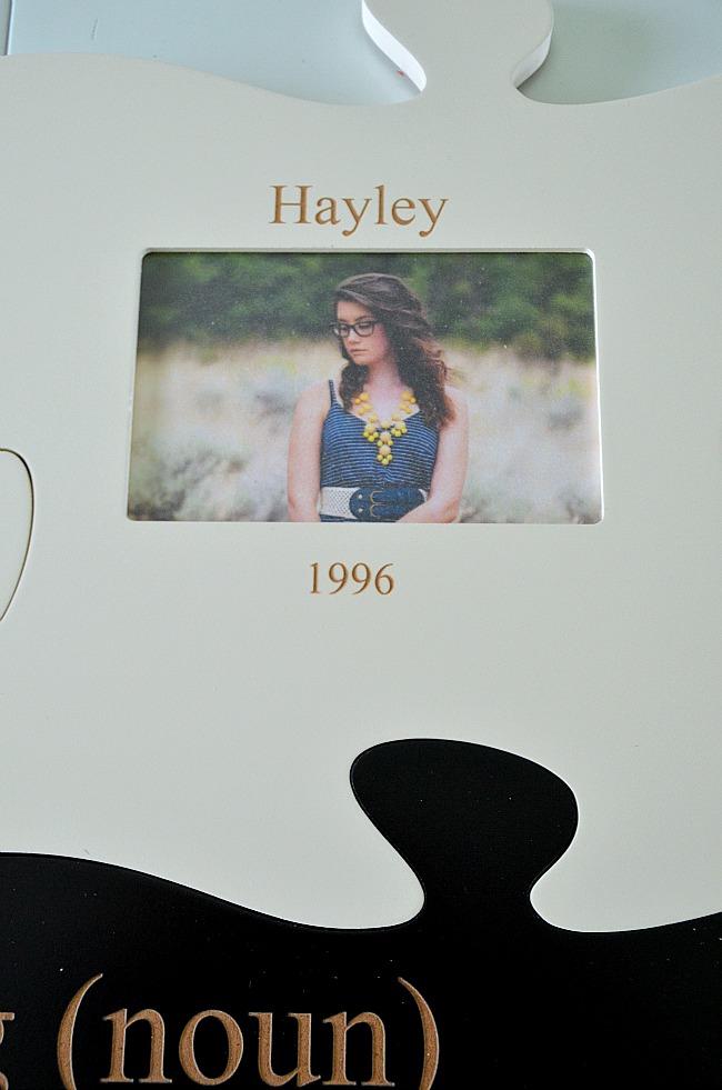 hayley puzzle of life piece
