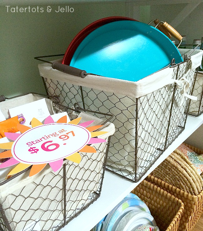 chicken wire baskets from better homes and gardens