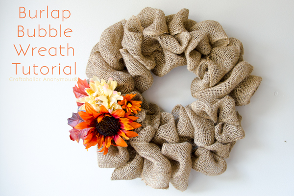 fall bubble wreath