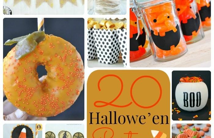 Great Ideas — 20 Halloween Party Ideas!