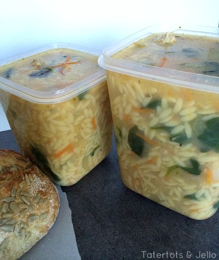 orzo soup containers