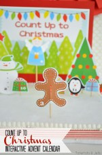 Count Up To Christmas Interactive Advent Calendar – FREE Printables!
