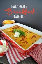 Family Favorite Breakfast Casserole: Easy Make-Ahead Recipe
