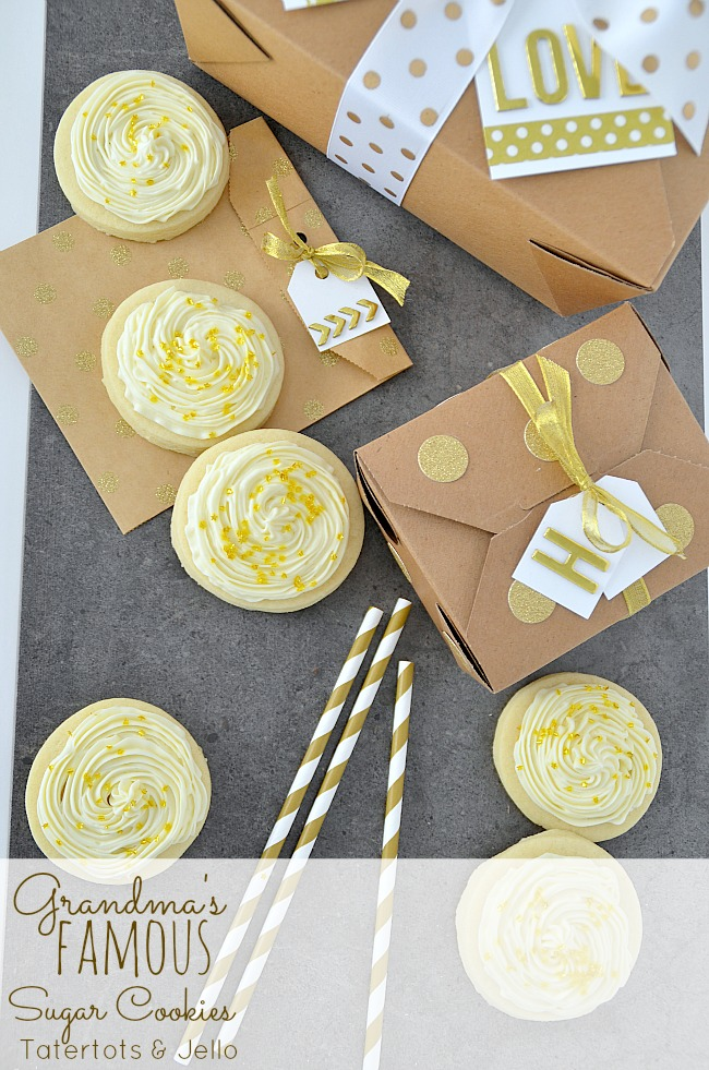Simply the BEST sugar cookie recipe in the world!