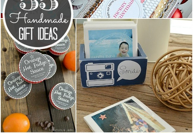 55 Handmade Gift Ideas for the Holidays and Blog Hop!