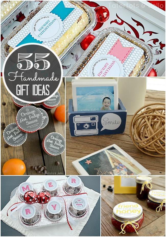 55 handmade gift ideas at tatertots and jello