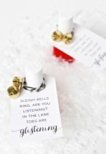 HAPPY Holidays: Easy Nail Polish Gift For Friends