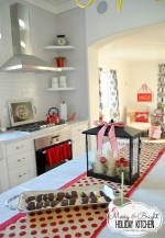 Merry and Bright Christmas Kitchen at the 1905 Cottage! {Free Printables!}