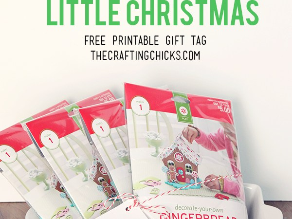 HAPPY Holidays: Have Yourself a Crafty Little Christmas Gift Tag