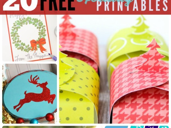 Great Ideas — 20 Free Holiday Printables!