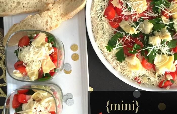 Individual Italian Seven-Layer Dip – Favorite NYE Recipe!