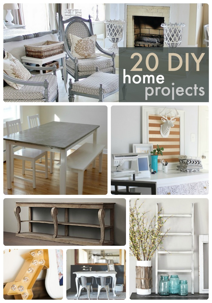 Great Ideas -- 20 Home DIY Projects