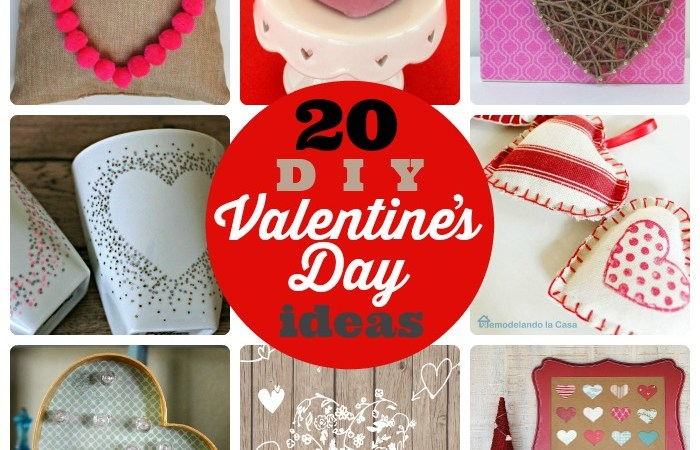 20 DIY Valentine's Day Ideas!