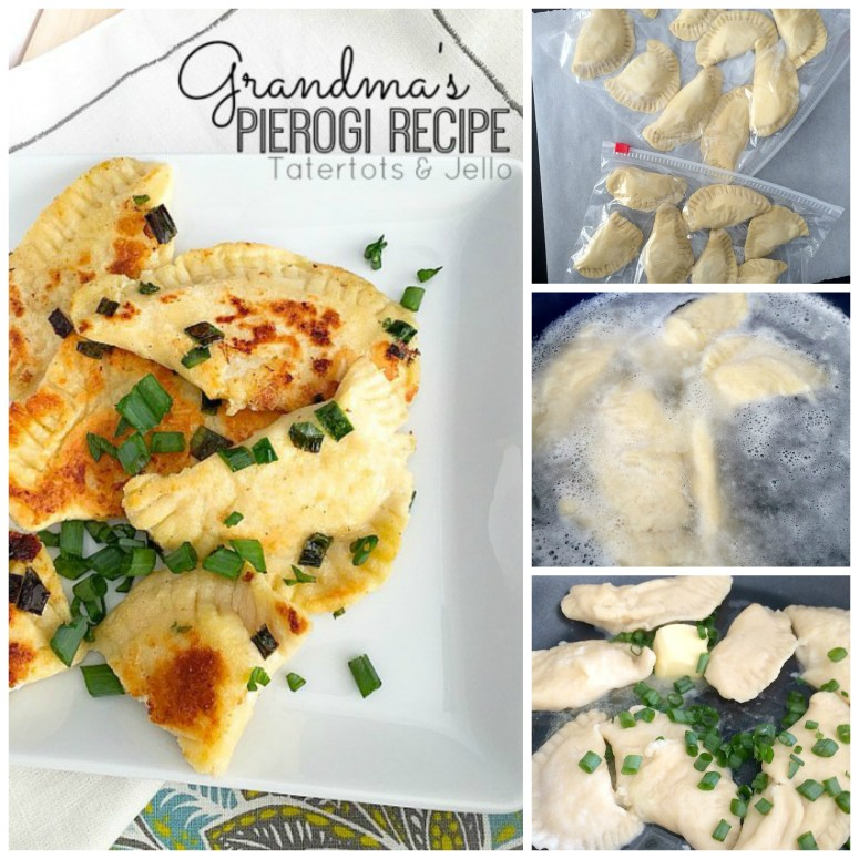 Grandma's Pierogis - New Years Eve Tradition Appetizer
