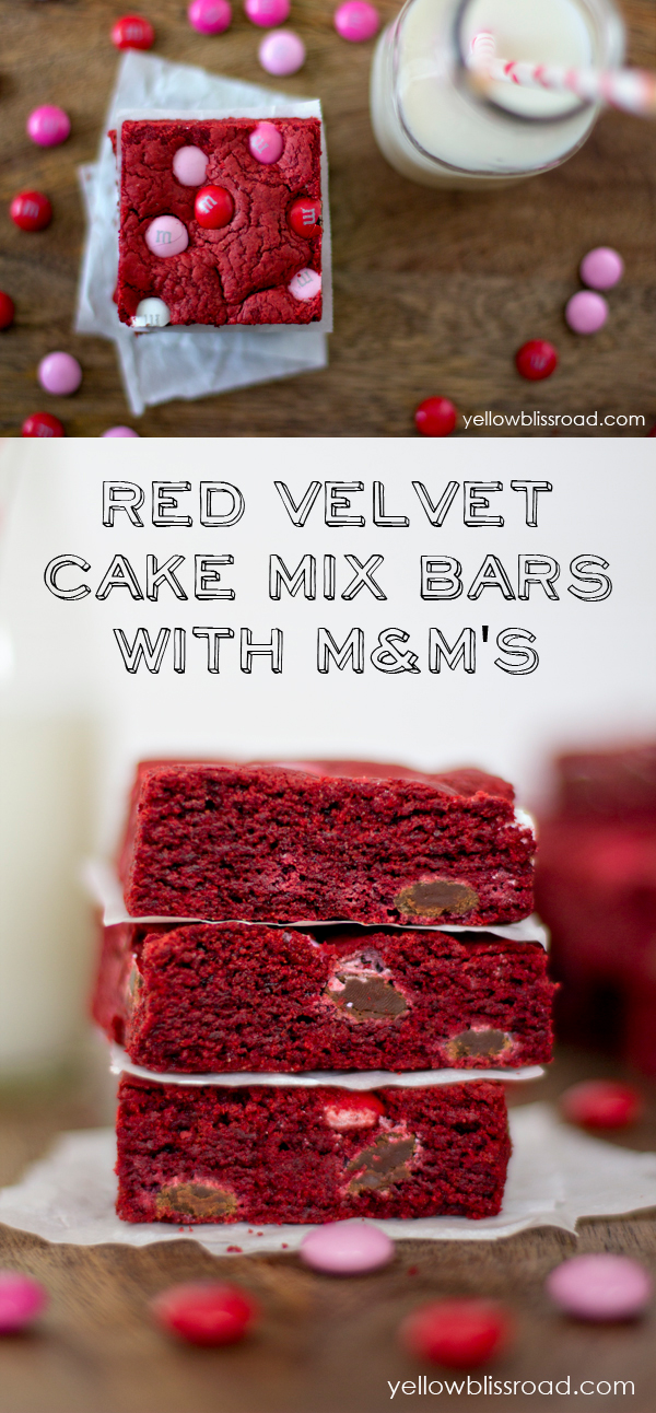 Red-Velvet-Cake-Mix-Bars-with-MMs-Collage