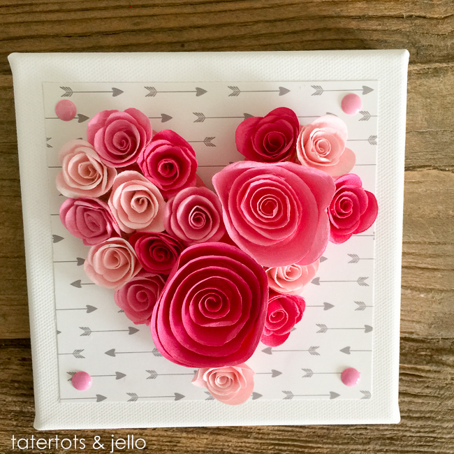Easy Decorations: Easy 10-Minute Valentine's Day Wall Art [and Free