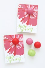 EOS Lip Balm Spring Printable Gift Idea
