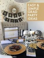 Easy & Simple Graduation Party Ideas!