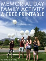 Memorial Day Family Activity & Free Printable!