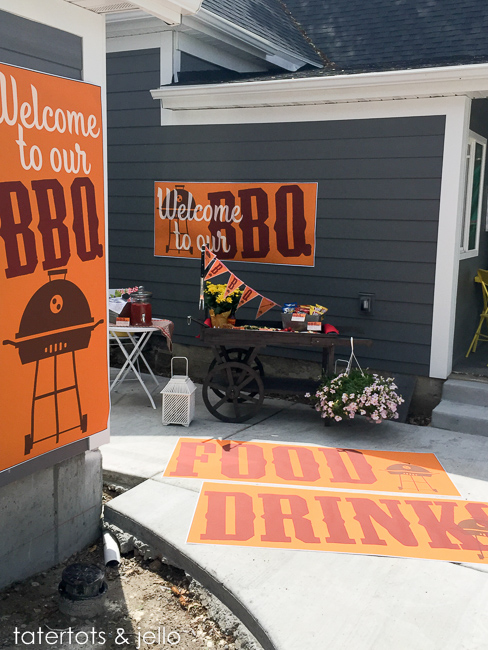 summer bbq printables all kinds of banners, invitations, signs and more