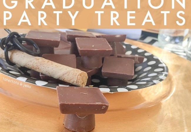 "Easy ""Mortar Board"" Graduation Party Treats"