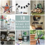 Great Ideas — 18 Summertime Home DIY Projects!