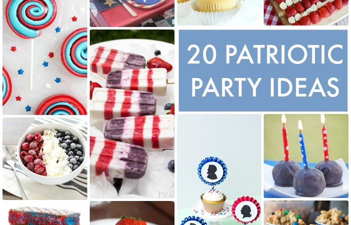 Great Ideas — 20 Patriotic Party Ideas!