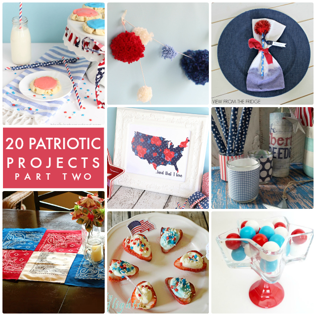 20 Patriotic Projects Part Two Collage