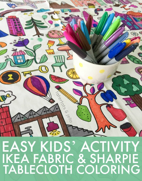 easy.kids.activity.ikea.fabric.sharpie.tablecloth.coloring