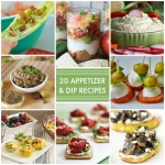 Great Ideas — 20 Appetizer and Dip Recipes!